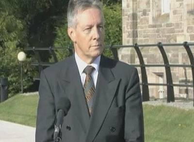 News video: Peter Robinson in Hospital After Suffering Suspected Heart Attack