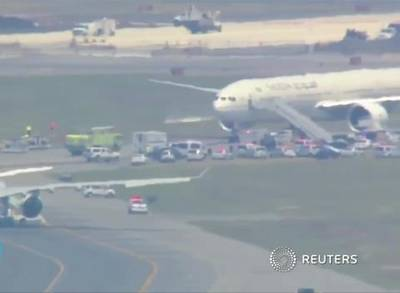 News video: Fighter Jets Scramble to Escort Air France Plane to JFK Airport Following Threat